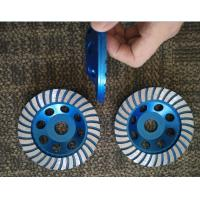 Buy cheap 125mm Turbo Cup Wheel , 5 Diamond Grinding Disc For Concrete from Wholesalers