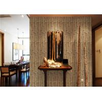 Buy cheap Bamboo 264g / m2 living Interior Room Wallpaper CE / ISO / SGS / CSA from wholesalers