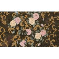 Quality Strippable Home Decoration Wallcovering PVC Wallpaper Wholesale Price Beautiful Flower for sale