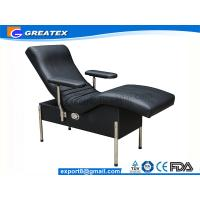 Buy cheap Single Sofa Hospital Chair With Steel Stand Legs Blood Drawing Chair For Backrest from wholesalers
