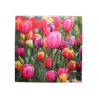 Buy cheap Frameless 3D Pictures Custom Lenticular Printing PET Printing 40x40cm from Wholesalers