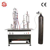 Quality Canned Fresh Air / Canned Oxygen Spray Filling Machines wholesale