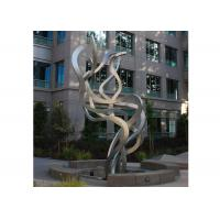 Buy cheap Fluttering Ribbon Abstract Modern Sculpture Abstract Metal Garden Sculptures from Wholesalers