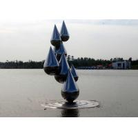 Buy cheap Outdoor Abstract Stainless Steel Garden Sculptures , Decoration Metal Garden Ornaments from Wholesalers