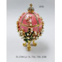 Faberge Egg Jewelry Boxes Trinket Boxes decor metal crafts gift