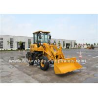 T915L Mini Front End Loader With Luxury Cabin 24kw Quanchai Engine