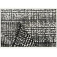Buy cheap One side Tartan , Black And White Hounds tooth / Swallow Grid Plaid Fabric from Wholesalers