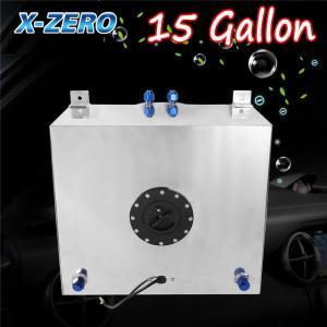 Quality 15 Gallon Aluminum Race Drift Fuel Cell Tank Lever Sensor Lightweight wholesale