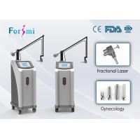 Buy cheap Beauty clinic use 40W 10600nm Metal RF Fractional CO2 Laser Skin Resurfacing Machine from Wholesalers