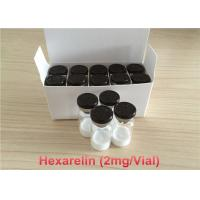 Buy cheap HPLC Hexarelin Muscle Building Peptides Most Effective 98 Percent Purity from Wholesalers