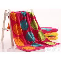 Buy cheap Woven Dye Yarn Organic Cotton Bath Towels Colorful OEM Available from Wholesalers