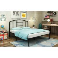 Buy cheap Simple Metal Frame Bed / Modern Iron Bed  Durable Adult Bedroom Bed Steel Material from Wholesalers