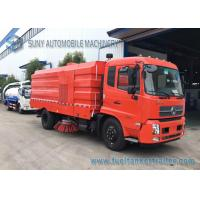 China 10T Dongfeng Kingrun Street Sweeper Truck With Dry Dust / Wet Dust Suction on sale