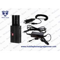 Buy cheap Selectable Cell Phone Signal Jammer 3G Lojack GPS For Examination Hall from wholesalers