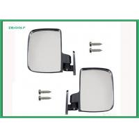 Universal Sporty Golf Cart Side View Mirrors Extra Wide Rear View Mirror