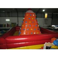 China Attractive Inflatable Climbers For Toddlers , Funny Inflatable Climbing Tower 6 x 6m on sale