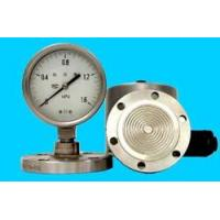 pressure instrument The welding flange divide pressure gauge