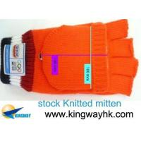 Stock Stocklot Closeout Overstock Surplus Knitted Mitten
