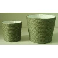 Buy cheap Paper Rope Wrapped Basket with Soft Liner from Wholesalers
