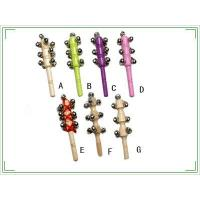 Bells & wood jingle stickBells & wood jingle stick