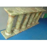 Buy cheap Dark Green Onyx Pedestals Columns, Marble Pedestals Columns, Telephone Stand from Wholesalers