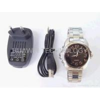 Buy cheap 4GB spy camera watch color Video/ Voice Recorder mini CCTV DVR from Wholesalers