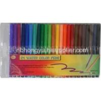 China Stationery Sets 24 Water Color Pens 24 Water Color Pens on sale