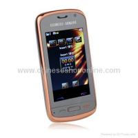 Buy cheap E58 Dual Card Quad Band Dual Camera Ultra Thin Touch Screen Cell Phone from Wholesalers