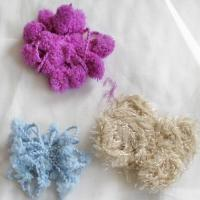 Quality Special purpose fancy yarn Polyester flower color wholesale