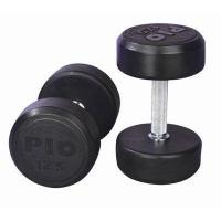 Buy cheap Fixed Rubber Dumbbell from wholesalers