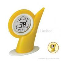 Buy cheap LCD Calendar Clock with Mirror in Thumb Shape from Wholesalers