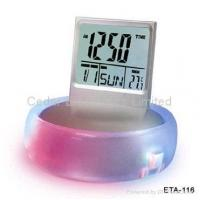Buy cheap LCD Calendar Music Alarm Clock with Dreamland Light from wholesalers