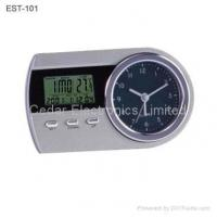 Buy cheap Analog Table Alarm Clock with LCD Calendar from wholesalers