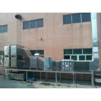 Waste gas purifying machine for printing and dyeing setting machine
