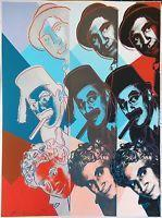 Andy Warhol Ii.232 The Marx Brothers 1980   Hand Signed Screenprint More Avail