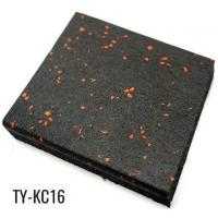 Buy cheap 20mm EPDM Granules Gym Rubber Floor Tiles from wholesalers