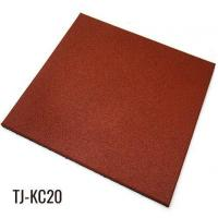 Buy cheap Red Heavy Duty Rubber Floor Tiles for Gym Equipment from wholesalers