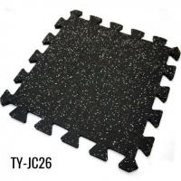 Buy cheap 3/8 Home EPDM Rubber Interlocking Gym Flooring Sheet from wholesalers
