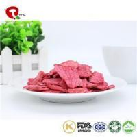 China TTN Wholesale Snack Food Vacuum Fried Radish Chips With Low Calorie Snacks on sale