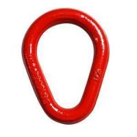 Buy cheap 5/8 Forged Steel Weldless Pear Rings from wholesalers
