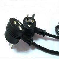 Buy cheap New SAA 3Pin AU power plug with female socket from Wholesalers