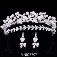 China Contemporary Collection Royal Tiaras Headband For Wedding Tiaras And Crowns on sale