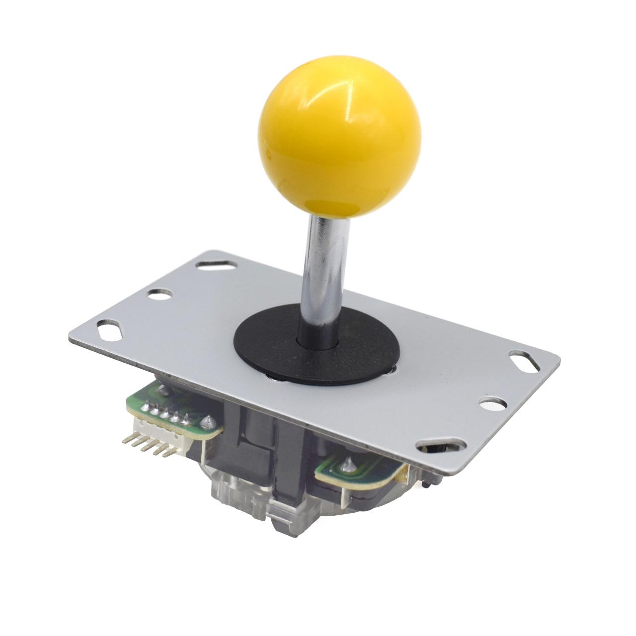 Buy cheap Yellow Ball 5Pin Micro Switche 8 Way Arcade Joystick Replacement from wholesalers