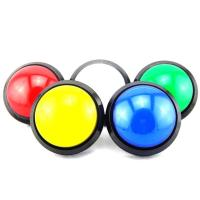 Buy cheap Arcade 100mm Round LED Push Button With micro switches from wholesalers