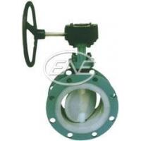 Buy cheap Diaphragm Valve Flange Fluorine Lined Butterfly Valve from wholesalers
