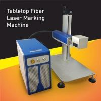 Buy cheap 10W Fiber Laser Marking Machine For Metal Parts Marking and Engraving from wholesalers