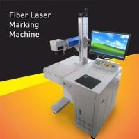 Buy cheap 50W Fiber Laser Engraving Machine,High Speed Fiber Laser Marker For Metal Permanent And deep Marking from wholesalers