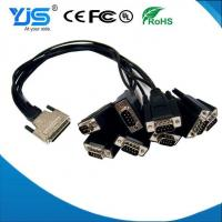 Buy cheap Very High Density Meaning VHDCI Cable Plastic Cover Mould 68pin To 5*db9 Cable from Wholesalers