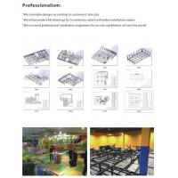Buy cheap Business plan indoor trampoline room trampoline park for adult from Wholesalers