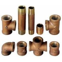 Buy cheap Brass Pipe Fittings 125# Lead Free from Wholesalers